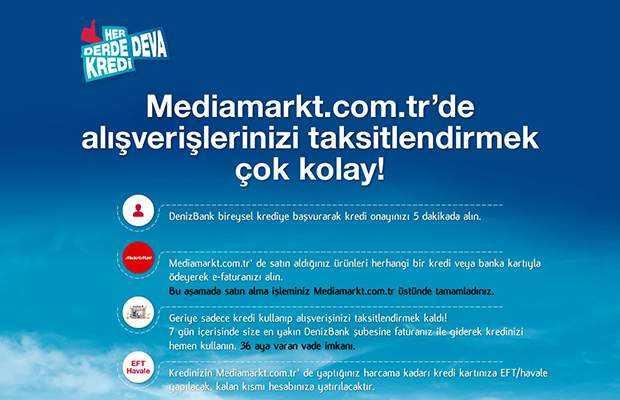 denizbank media markt kampanyası