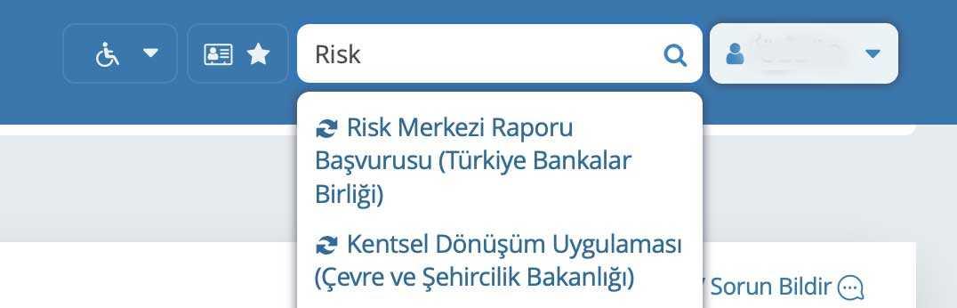 e-devlet-kredi-notu-ogrenme---risk-merkezine-giris